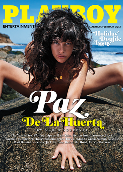 January/February 2013 Playboy Cover