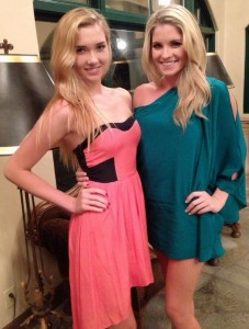 Carly and her sister...think I would take the sister