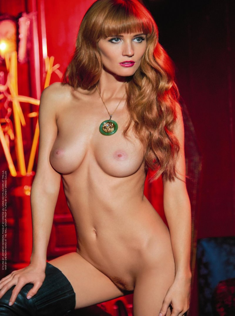 Dominique Jane Sharpe Miss August 2015 Playboy Playmate of the Month