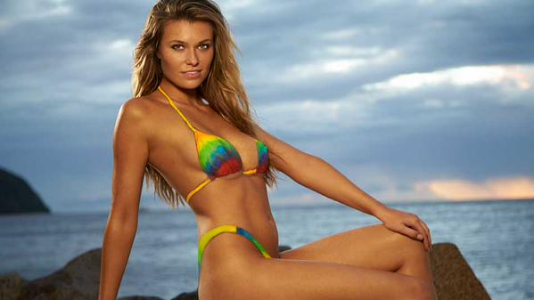 "Monica Sim's ""other half"", Elite Model Samantha Hoopes"
