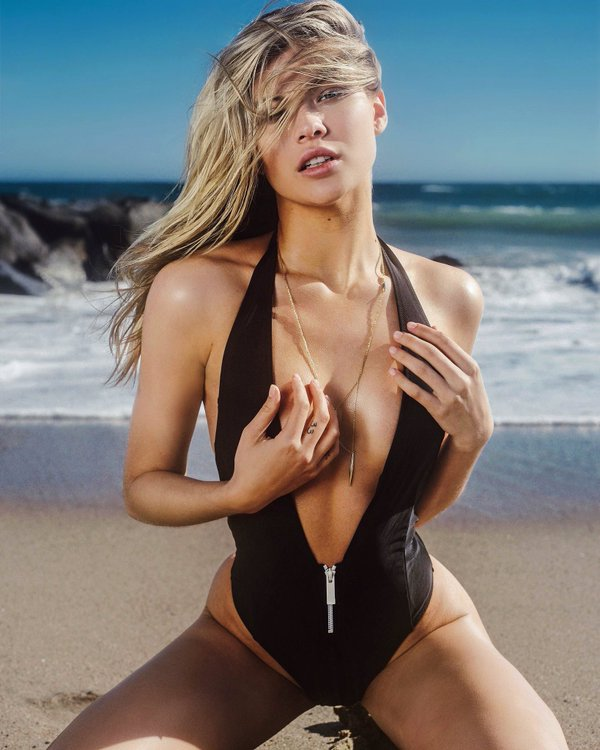 Josie Canseco, just another day at the beach for Miss June 2016 Playboy Playmate of the Month