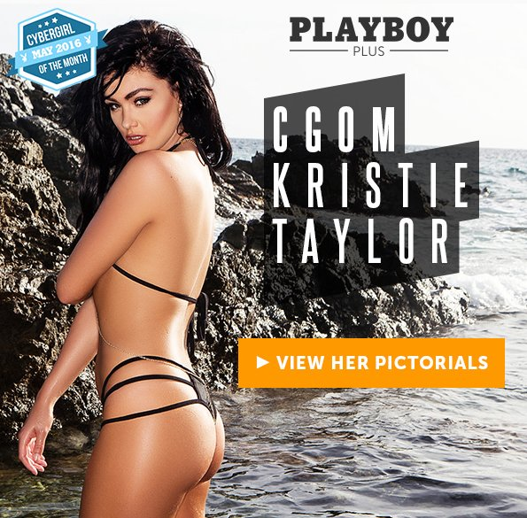 See Kristie Taylor, Cyber Girl of the Month, May 2016 at Playboy Plus!
