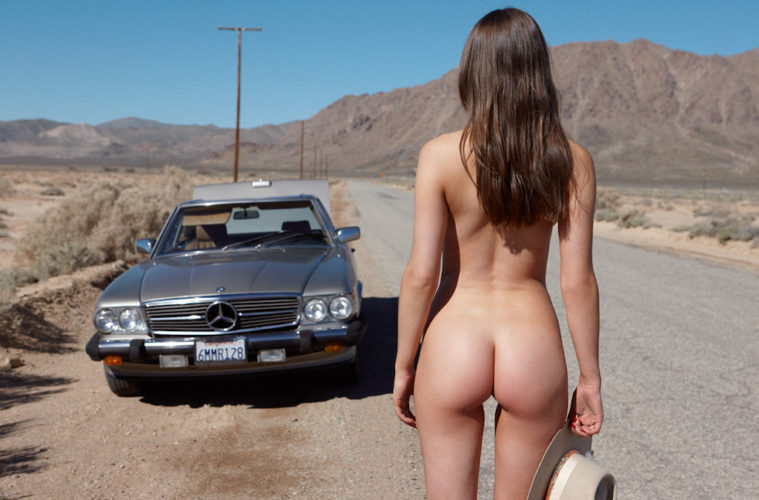 Head on out the highway with June Playmate 2017 Elsie Hewitt