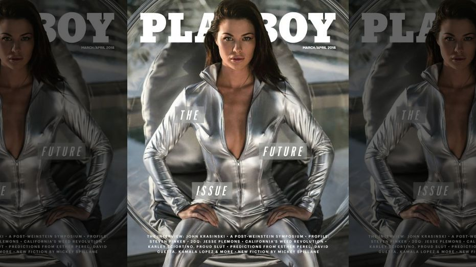 Jenny Watwood March 2018 Playboy Playmate of the Month Cover